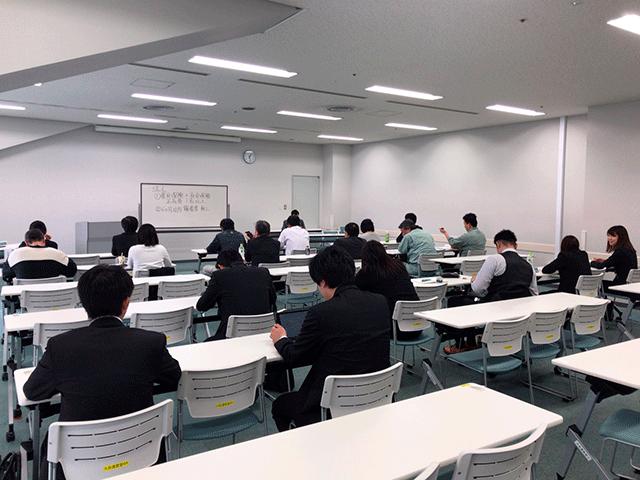 新潟にて、損保会社主催-助成金セミナー