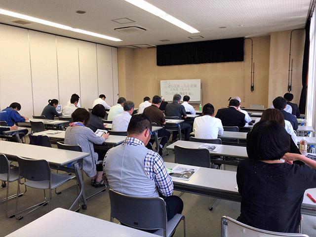 宮城県古河にて助成金セミナー講師