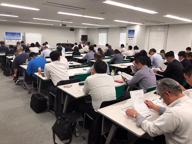 博多にて、助成金セミナー講師