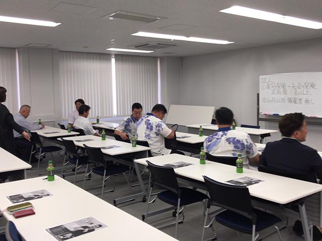 ロータスクラブ長崎県支部にて、助成金セミナー講師