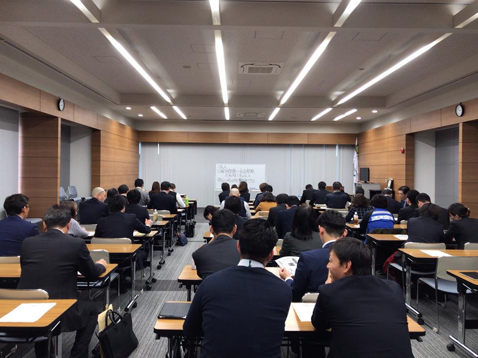 岩手県盛岡にて、助成金セミナー